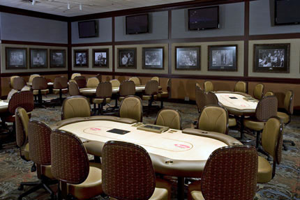 Binion's Hall of Fame Poker Room