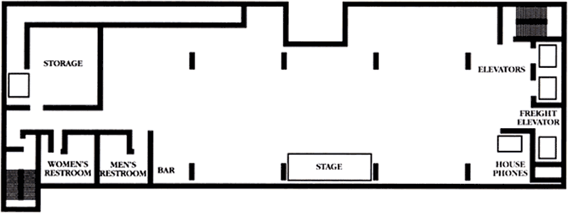 Royal Pavillion Layout